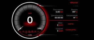 Программа спидометр на телефон android - Speed View GPS Pro