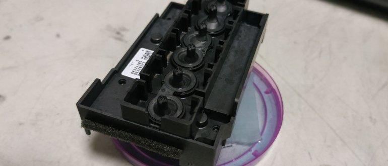 промывка печатающей головки epson - инструкция