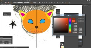 Changing color with Adobe Illustrator Swatch