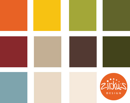 Zirkus Design | Cocinitas Retro Kitchen Design Palette