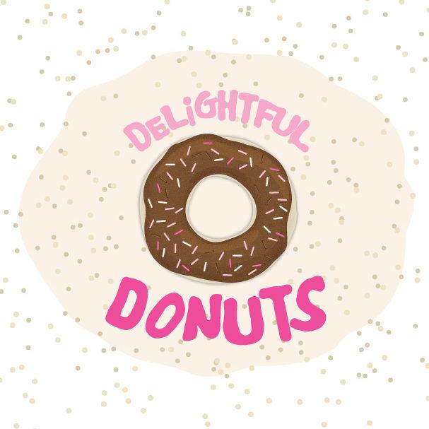 Zirkus Design | Vector Art | Donut Graphic