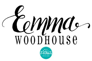 Zirkus Design | Emma Woodhouse Hand Lettered Logo Scan - Emma Woodhouse Final Design