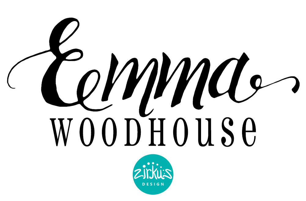Zirkus Design | Emma Woodhouse Hand Lettered Logo Scan - Emma Woodhouse Final Design