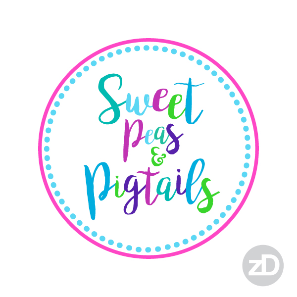 Zirkus Design | Teachers Pay Teachers Store Promo Package -Sweet Peas and Pigtails Logo Choice 1