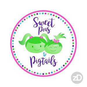 Zirkus Design | Teachers Pay Teachers Store Promo Package -Sweet Peas and Pigtails Logo Choice 2
