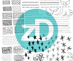 Zirkus Design | Starry Night in the City: Spoonflower Challenge Winner and New Pattern - City Textures + Moon