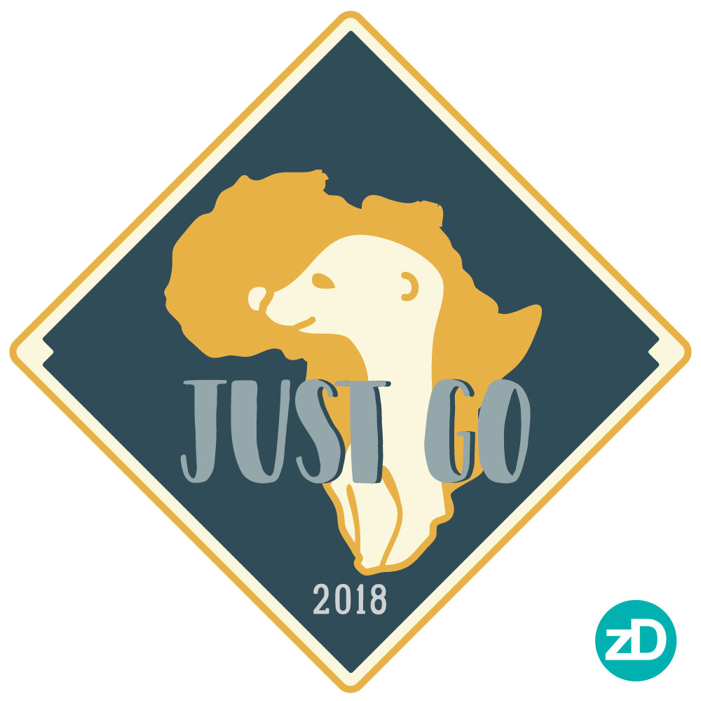 Zirkus Design | Stick 'Em Up: Sticker Design for a Good Cause - Africa Missions Trip Meerkat Stickers - Final Sticker Design