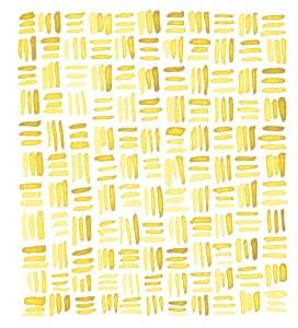 Zirkus Design | Indigo Vibes Summer Watercolor Surface Pattern Design Collection : Yellow Gold Watercolor Crosshatch
