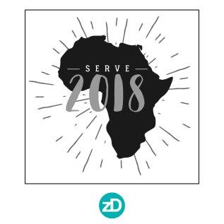 Zirkus Design   Stick 'Em Up: Sticker Design for a Good Cause - Africa Sticker Rough Option 3 - Serve 2018