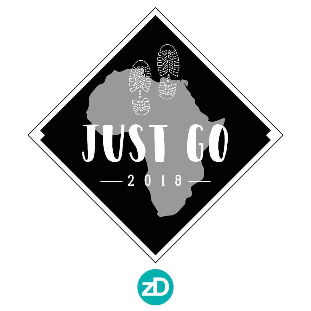 Zirkus Design | Stick 'Em Up: Sticker Design for a Good Cause - Africa Missions Trip Footprints Sticker Rough 4