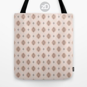 Zirkus Design | Boho Baby // Middle Eastern Metallic Pattern Collection Inspired by Turkish Kilim: Cypress Secondary Print (Tote Bag Available Through Society6)
