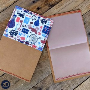 Zirkus Design | All Aboard to Explore Our Marvelous World - Victorian Travel Hand Sewn Stationery