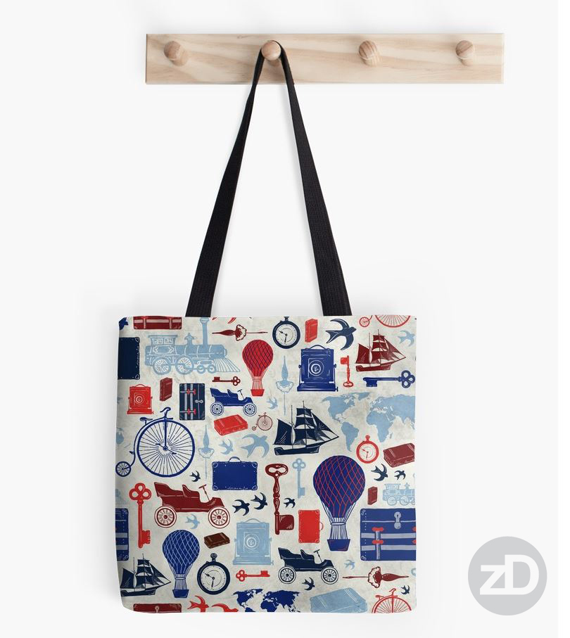 Zirkus Design | All Aboard to Explore Our Marvelous World - Tote Bag