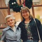 Brenda with her grandma Leona