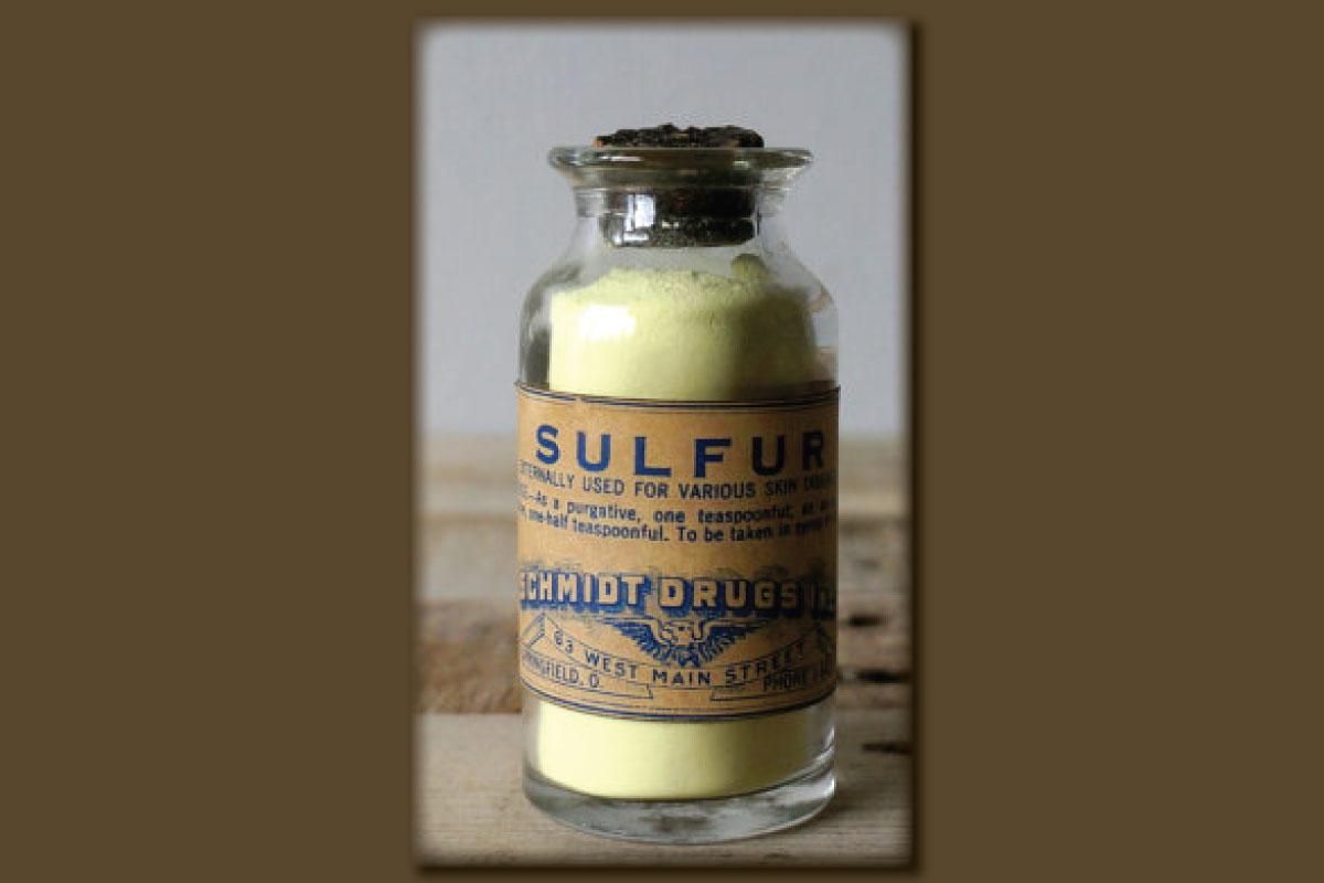 Allergic to Sulfites?  Allergic to Sulfur?