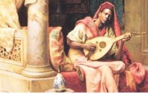 Ziryab Playing Lyre