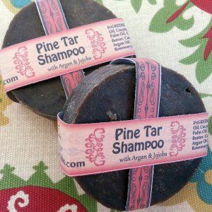 Pine Tar Shampoo Bar For Flakey Itchy Scalp and Dandruff