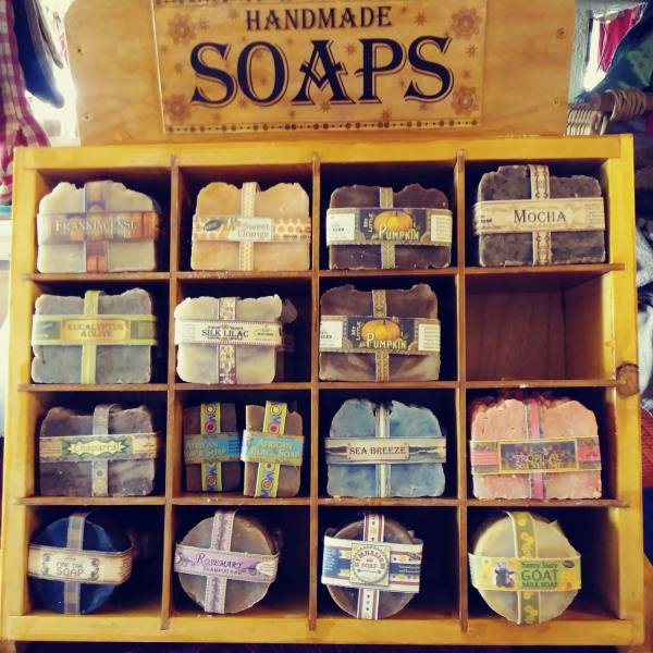A Display of Soaps at Ziryab's Shop