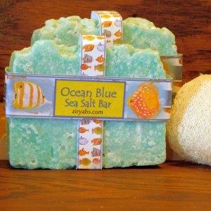 Ocean Blue Sea Salt Soap