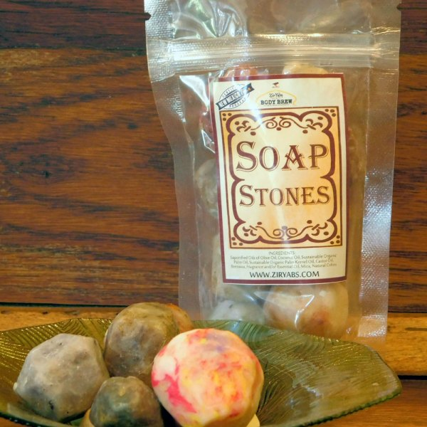 Bag of Soaps Stones