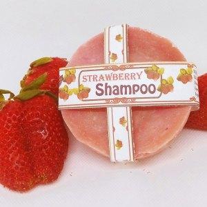Old Fashioned Strawberry Shampoo Bar