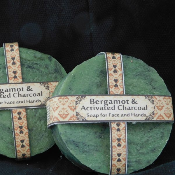 Activated Charcoal and Bergamot Complexion Soap