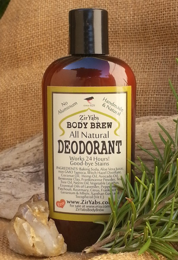 Strong Natural Deodorant