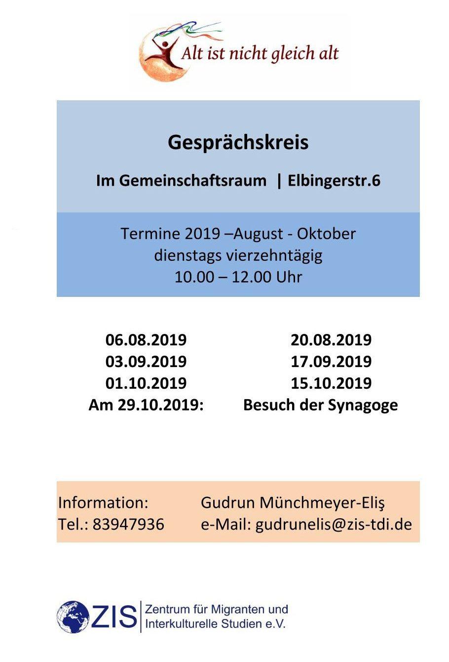 Gesprächskreis 3 2019