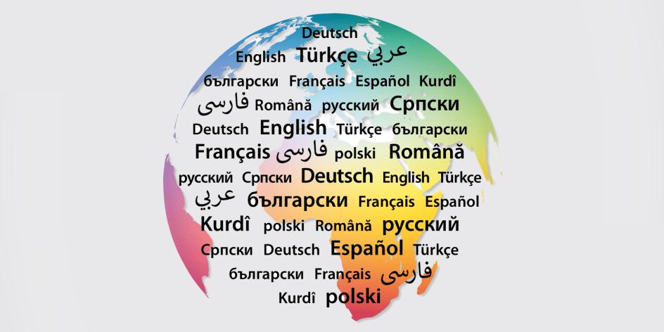 Corona – Infos in verschiedenen Sprachen