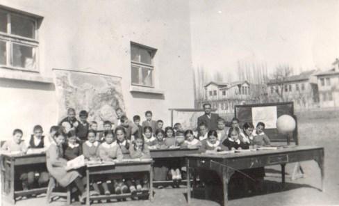 Schulfoto in Sivas 1950, Özdal Dinçel (© privat)