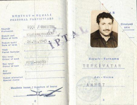 Pass 1 annuliert, Ahmet Terkivatan (© privat)