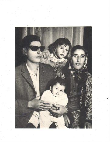 Familienfoto Ankara 1971, Ahmet Terkivatan (© privat)