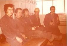 AG Weser-Arbeitskollegen 1969, Mustafa Balcı (© privat)