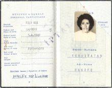 Pass, Hanife Terkivatan (© privat)