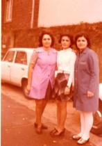 Firma Nordmann- Arbeitskoleginnen 1974, Sevgi Balcı (© privat)