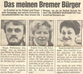 Stadtteilzeitung Bremen 1987 (© Stadtteilzeitung Bremen)