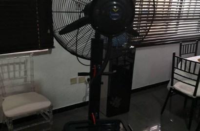 Dual Function Super Duty Misty Fan