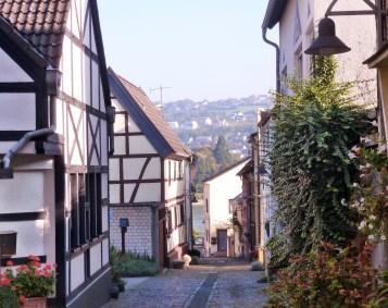 Alte Häuser.
