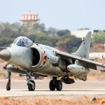 Sea Harriers of the Indian Navy flew for the Last Time today