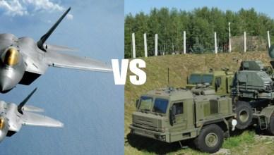 S-400 VS F-22