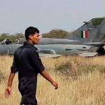 Indian Air Force's MiG 21 crash-lands at Srinagar Airport