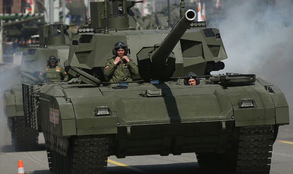 The T-14 is world's first series-produced fifth generation tank.