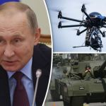 Russia to fit tanks with 'PTERODACTYL' drones as Putin bolsters forces on Europe's borders