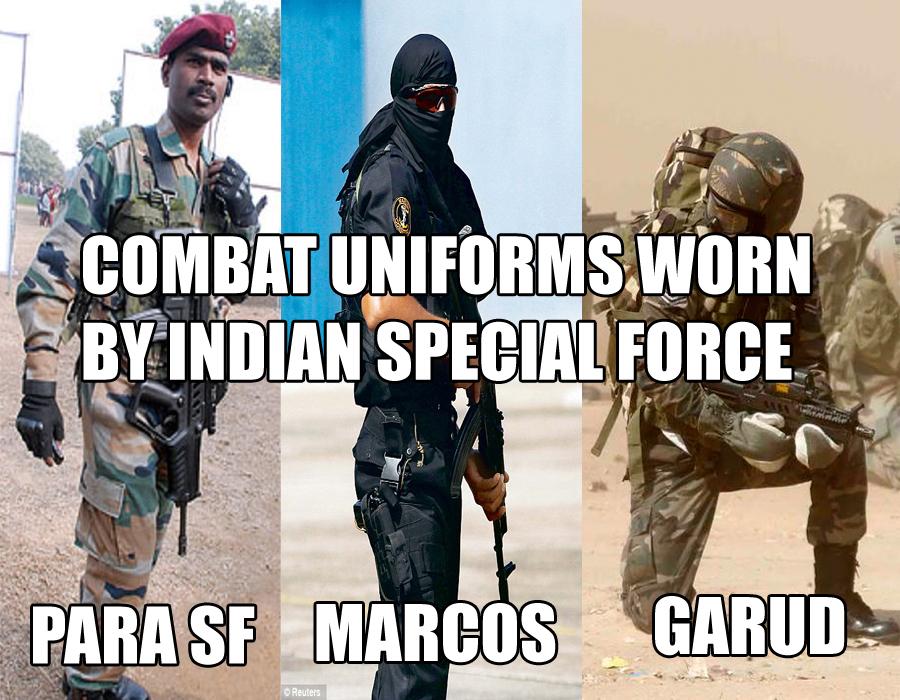 Uniform of Para Commando