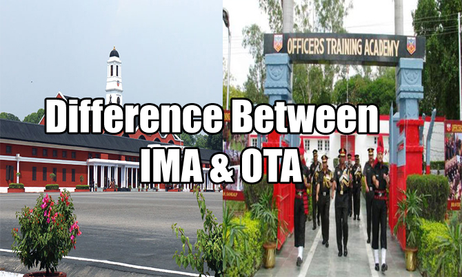 difference between indian military academy ima and
