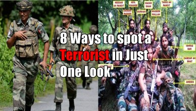 terrorist in Indian Army Uniform
