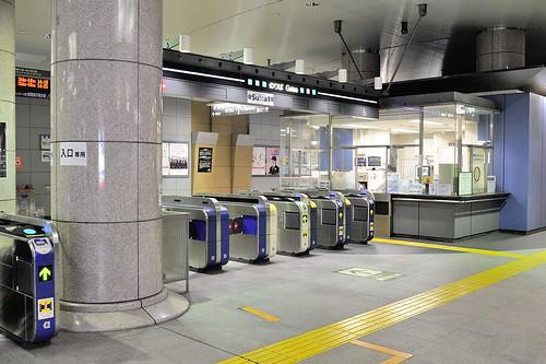 天王州駅 車站內