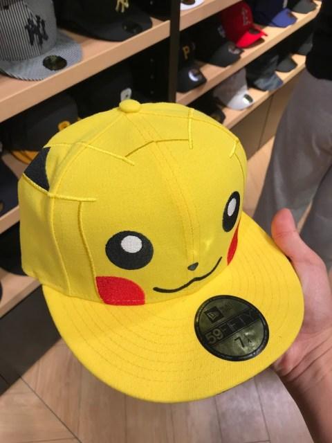 同場加映一:超可愛皮卡丘嘻哈帽 @台場DiverCity Tokyo Plaza 購物中心入手的!
