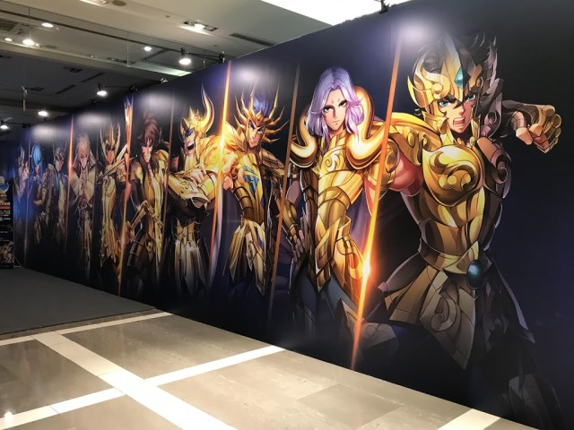 雅典娜女神的黃金聖鬥士們。