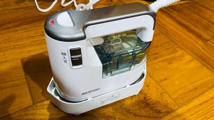 IRS-01-WS 打開電源快速加熱